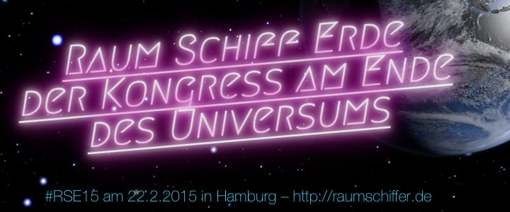 Raum Schiff Erde am 22.2.2013 in Hamburg